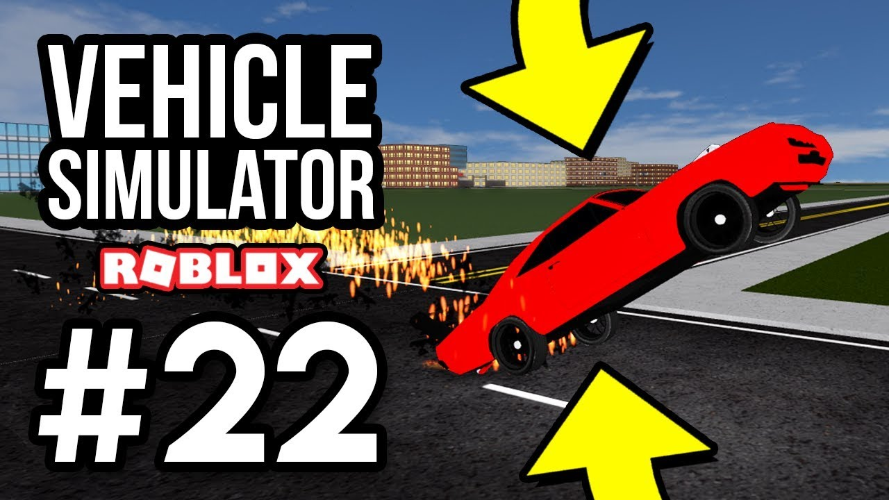 Glitched Wheelie Car Roblox Vehicle Simulator 22 Youtube Smart Car