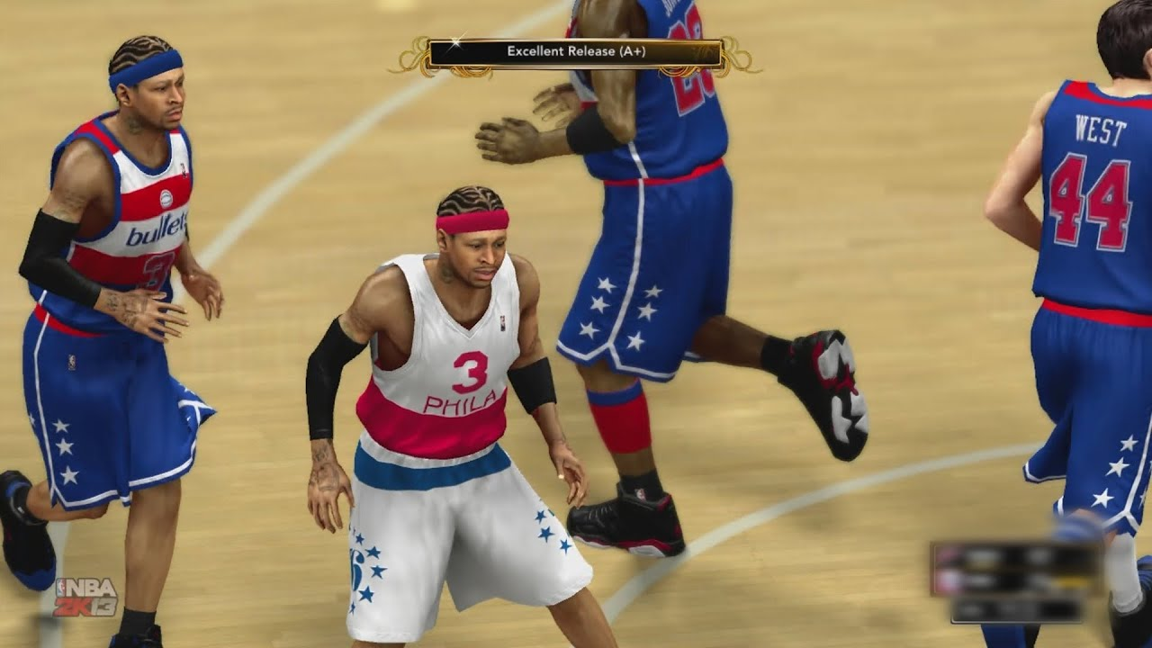 Nba 2k13 My Team Allen Iverson Drops Jordan In Debut Youtube Medium