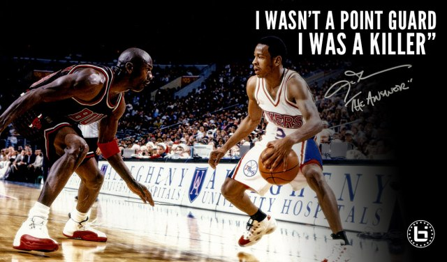 Allen Iverson Hall Of Fame Interview I Wasn T A Point Guard I Was Medium