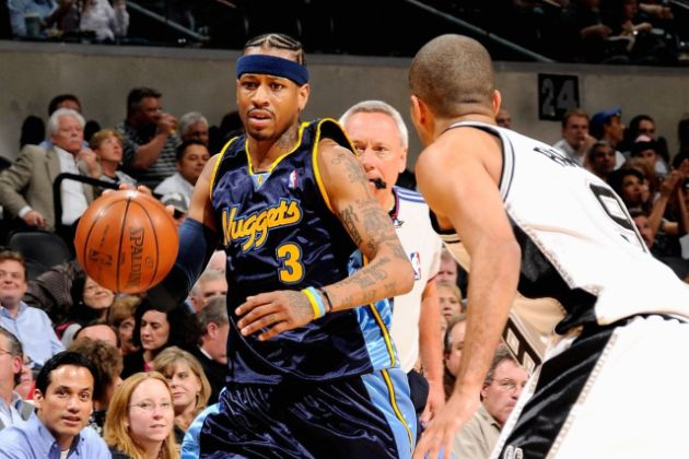 Revisiting 2007 Allen Iverson And The Spurs Denver Stiffs Medium