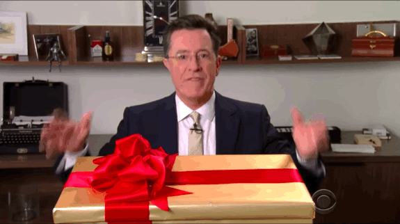 last minute holiday gift ideas from the late show with stephen medium