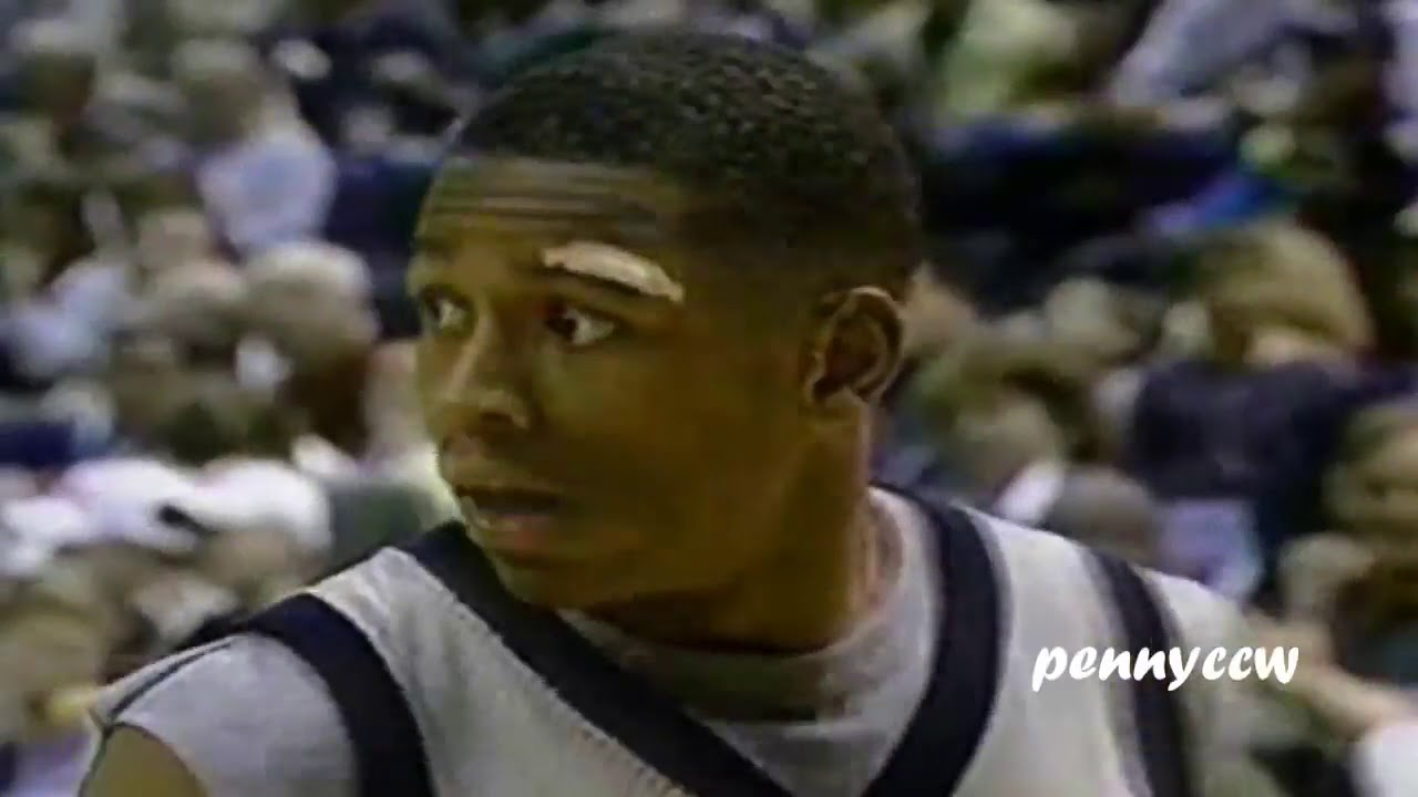 Allen Iverson Victor Page Highlights Georgetown Hoyas Vs Temple Medium